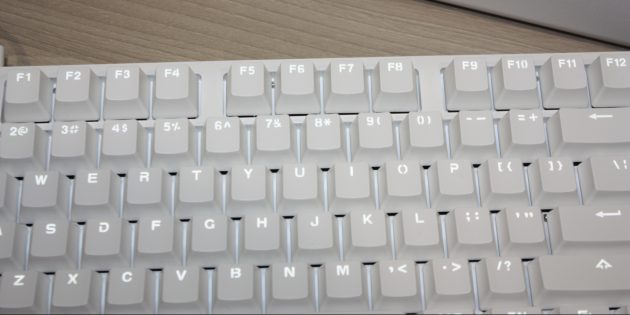 Xiaomi Mi Keyboard: раскладка