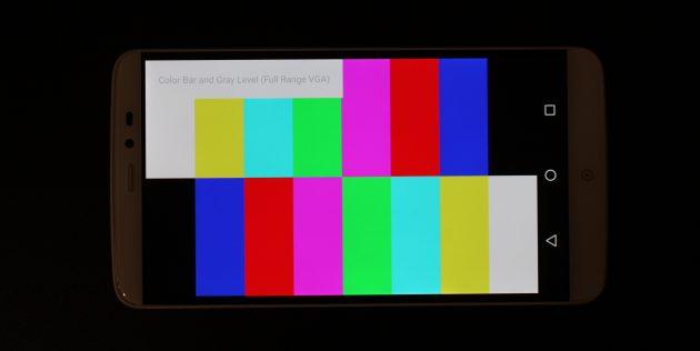 PPTV King 7: цвет