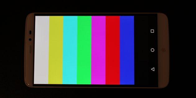 PPTV King 7: цветопередача