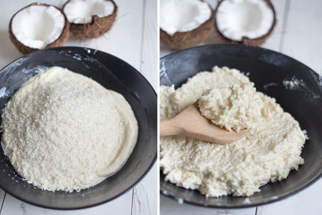 Мягкое кокосовое печенье с творогом: добавьте кокосовую стружку