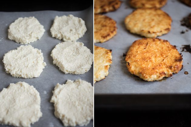 Испеките кокосовое печенье с творогом
