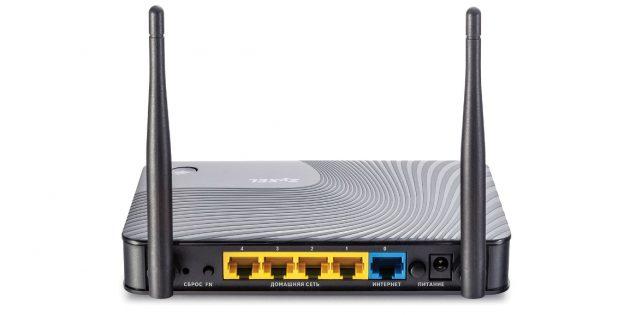 Как выбрать роутер: Количество и тип LAN-портов