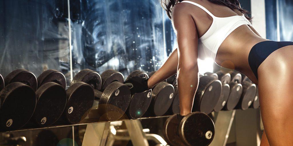 При тренировках вес только идт вверх