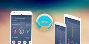 Meteor — красивое приложение для проверки скорости сети