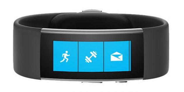 фитнес-трекеры: Microsoft Band 2