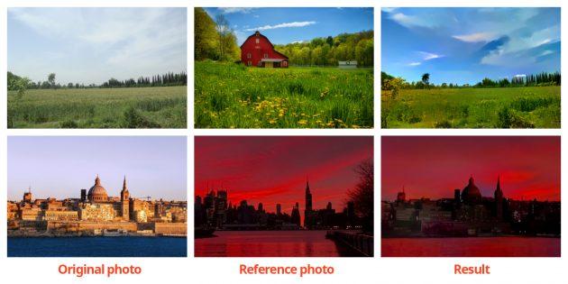 Adobe стили фотографий