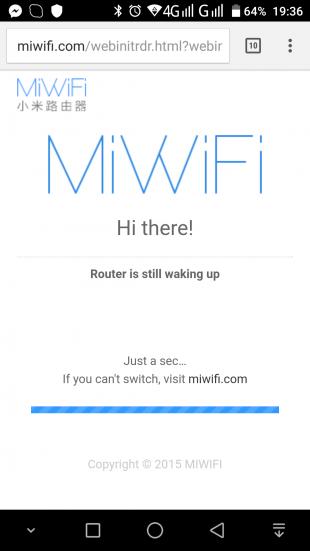 Xiaomi R1D: MiWiFi