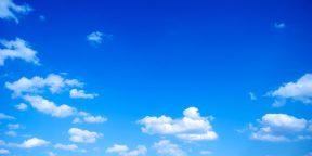 Как объяснить ребёнку, почему небо голубое