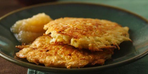 рецепты для вегетарианцев: драники
