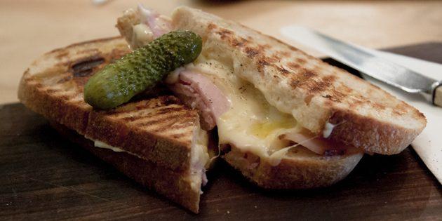 рецепты быстрых блюд: французские бутерброды «Крок-месье»