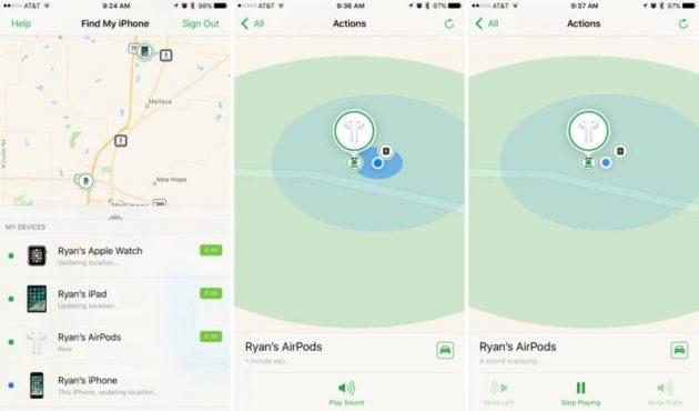 iOS 10.3: AirPods