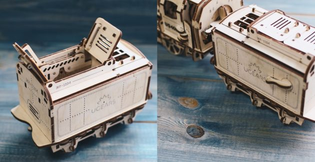 UGEARS: локомотив