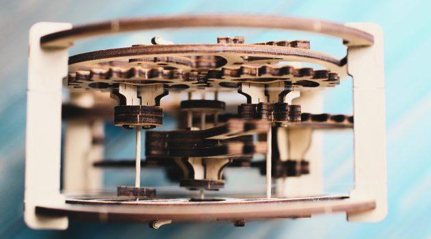 UGEARS: механиз конструктора