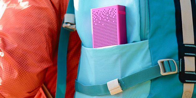 товары для пикника: беспроводная колонка Xiaomi Mi