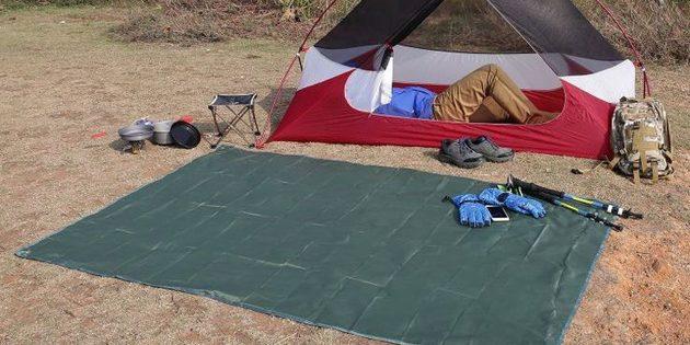 товары для пикника: водонепроницаемый коврик