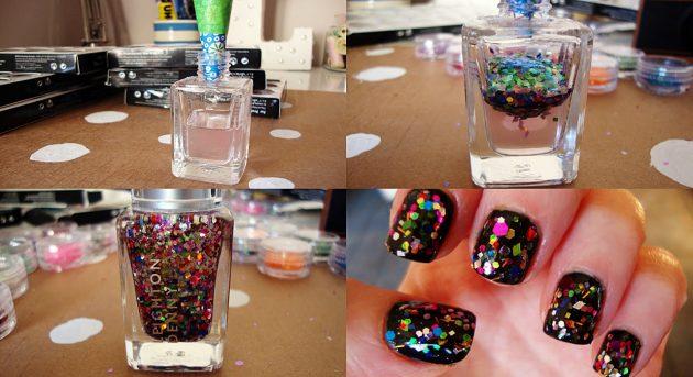 как сделать лак для ногтей: перламутровый лак