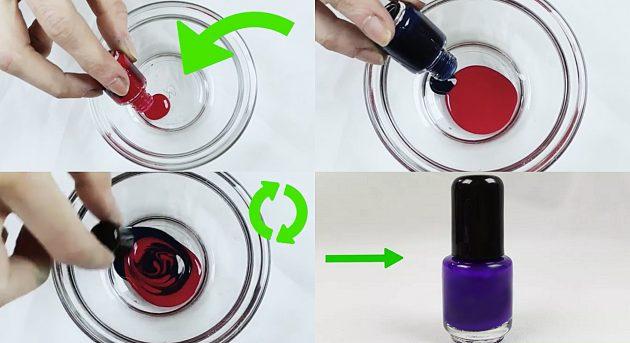 как сделать лак для ногтей: новый лак из старых