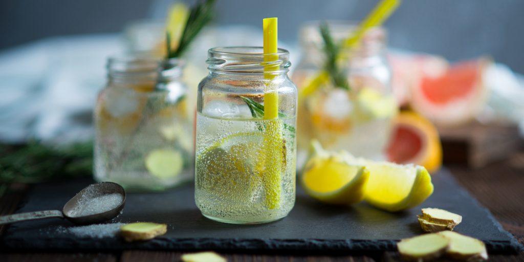 Домашняя газировка из лимонной кислоты и соды