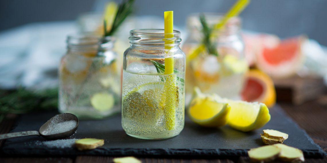 Как сделать домашний лимонад газированный фото 376