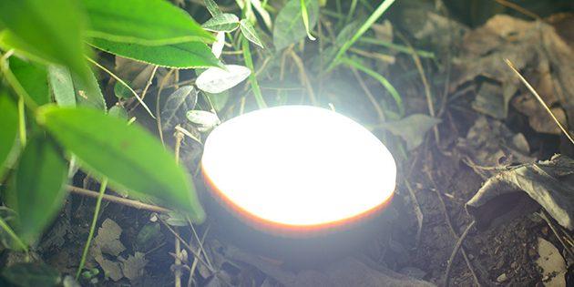 товары для пикника: портативная светодиодная лампочка