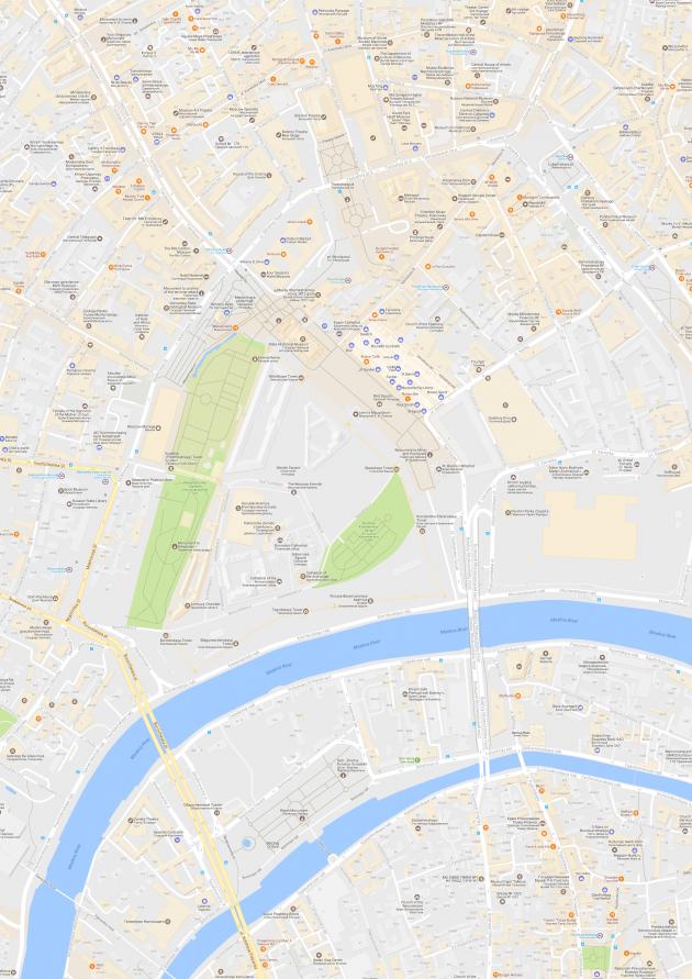 Map Puzzle: готовая карта