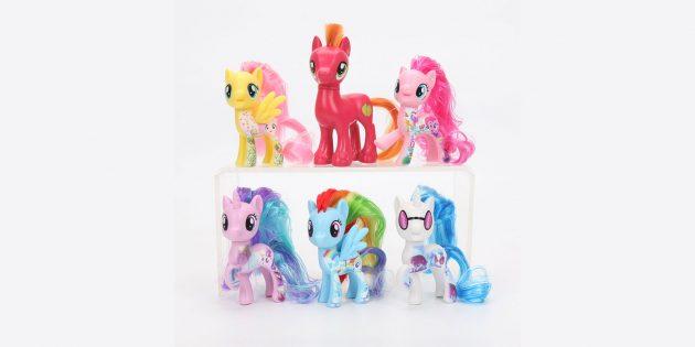 Фигурки из мультфильма My Little Pony