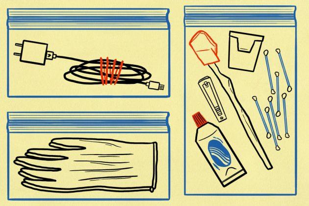как упаковать чемодан: чехлы