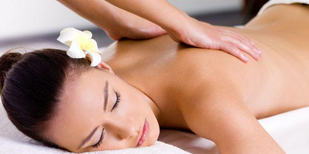 Как делать эротический массаж: Поглаживание
