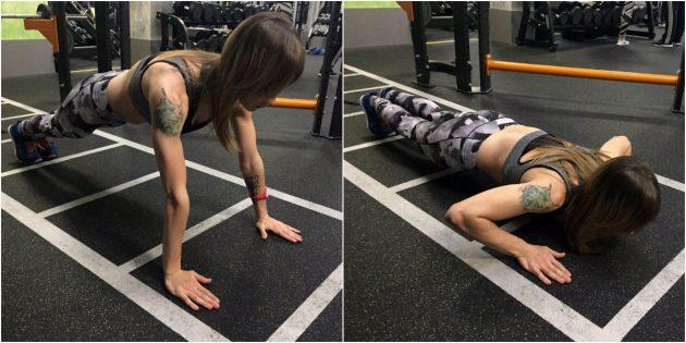 составить тренировку: мышцы кора