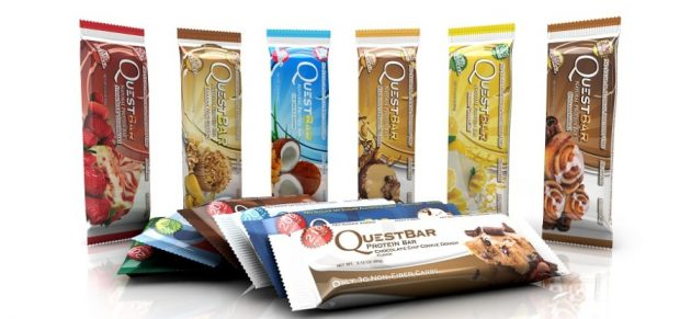 спортивное питание для девушек: батончики QuestBar