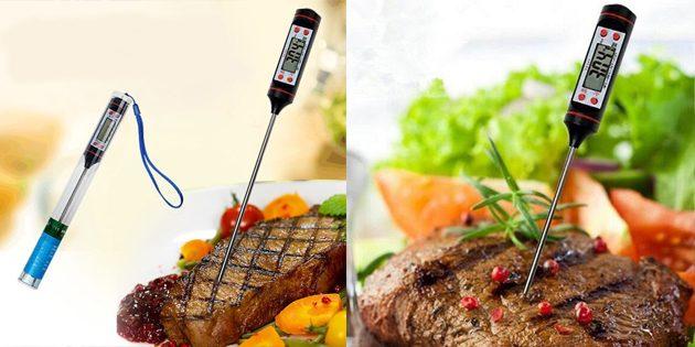 товары для пикника: кулинарный термометр
