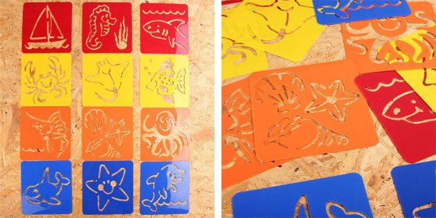 Трафареты для рисования