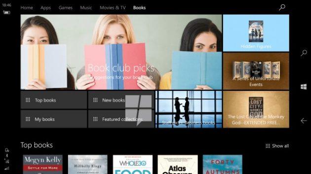 windows-10-ebooks Windows 10 Сreators Update
