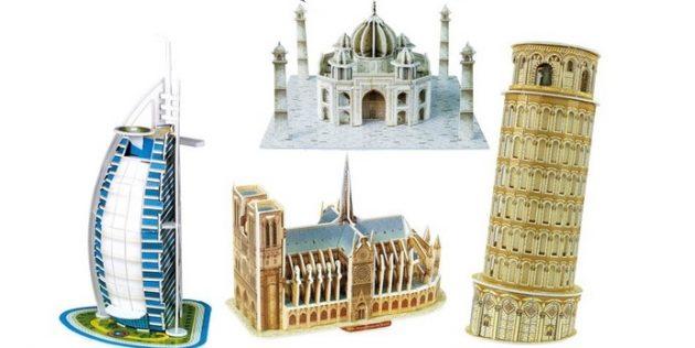 3D-модели достопримечательностей