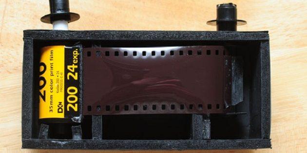 пинхол-камера: пленка