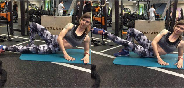 Упражнения для внутренней части бедра: Приведение бедра