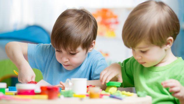 общение с ребёнком: лепка