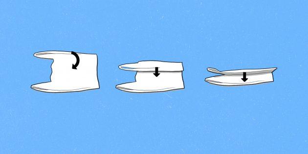 Как избавиться от пакета для пакетов и сложить полиэтиленовые мешки