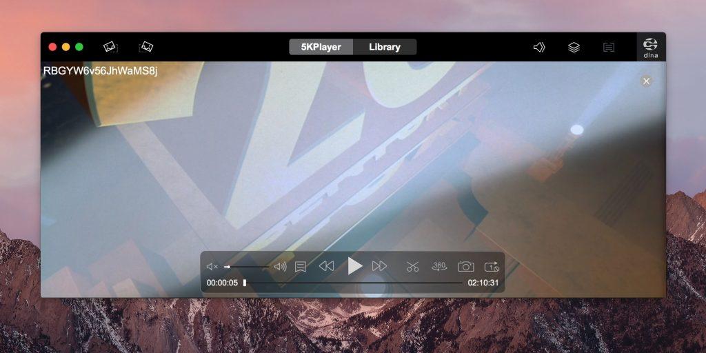Видеоплееры для Mac: 5KPlayer