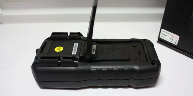 Мультиметр ADM 30: задняя панель