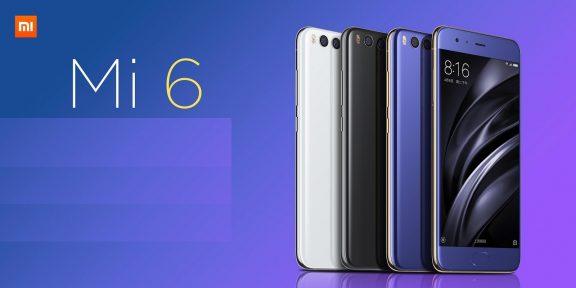 Представлен Xiaomi Mi6 со сдвоенной камерой и процессором Snapdragon 835