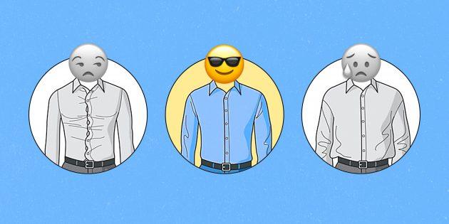 Как правильно подобрать рубашку по размеру