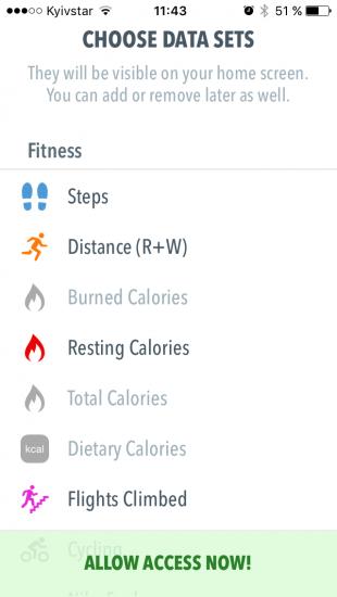 HealthView для iOS