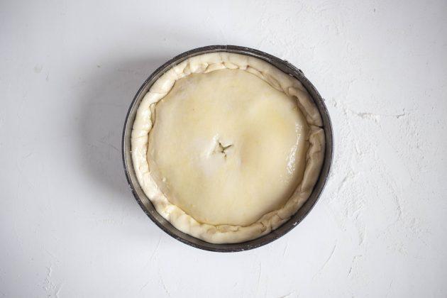 Итальянский сырный пирог: рецепт. Сделайте крестообразный надрез в центре пирога