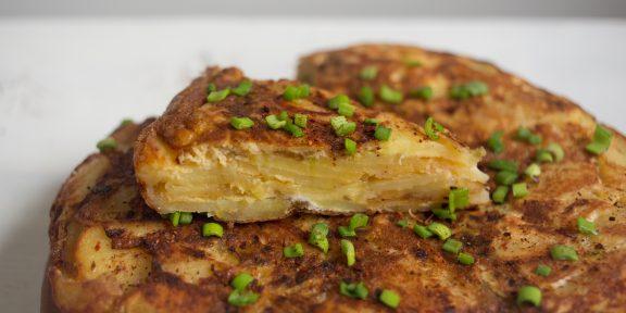 Рецепт классического испанского картофельного омлета