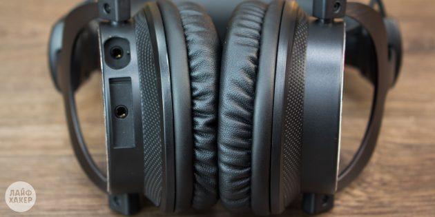 Creative Sound BlasterX H7 Tournament Edition: амбушюры