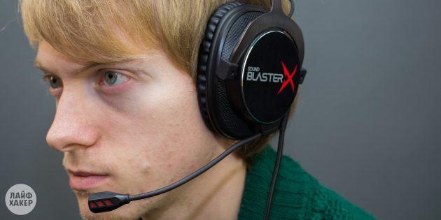 Игровые наушники Creative Sound BlasterX H7 Tournament Edition