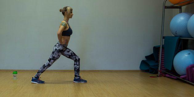 упражнения-филлеры: растяжка икроножных мышц
