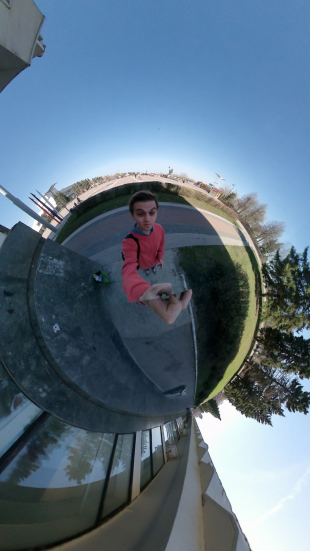 Giroptic iO: фото в режиме Little Planet