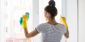 Как помыть окна без разводов: пошаговая инструкция